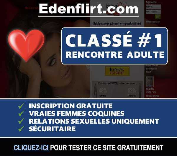 Capture du site de rencontre Edenflirt