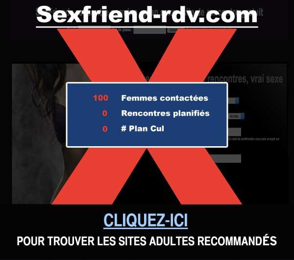 Capture du site de rencontre Sexfriend-rdv