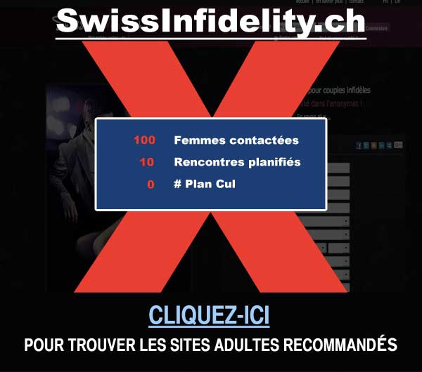 Capture du site de rencontre SwissInfidelity