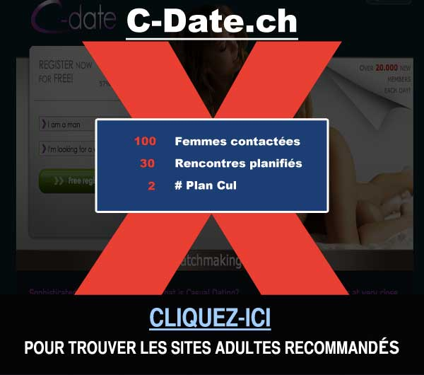 Capture du site de rencontre C-Date