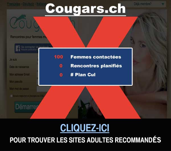 Capture du site de rencontre Cougars