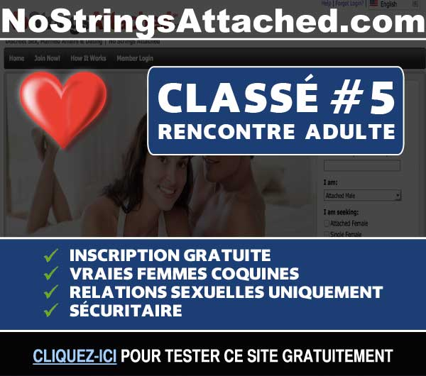 Capture du site de rencontre NoStringsAttached