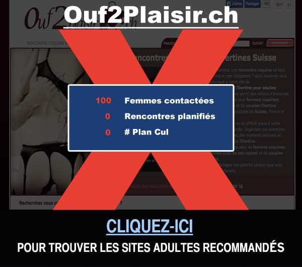 Capture du site de rencontre Ouf2Plaisir